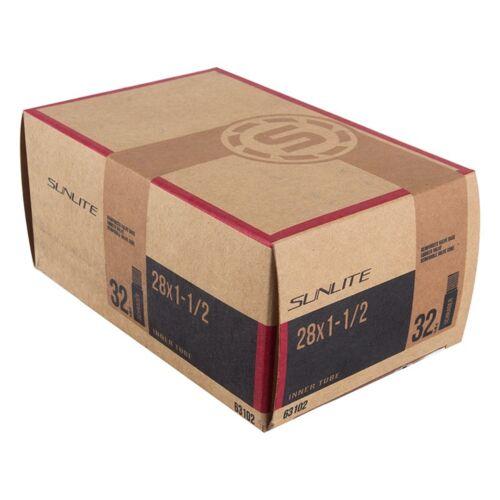 Sunlite Standard Schrader Valve Tubes 28X1-1//2 32Mm Sv Smooth Re 0D