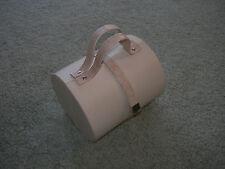 Caja de joyería de viaje con 8 compartimientos ~ ~ Crema de cuero de imitación
