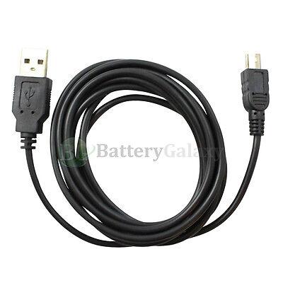 100 USB 6FT Data Sync A Male to Mini B Male Printer Camera Cable U2A1-2MBLK