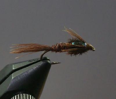 Pheasant Tail Nymph Wet Fly Trout 1 Dzn