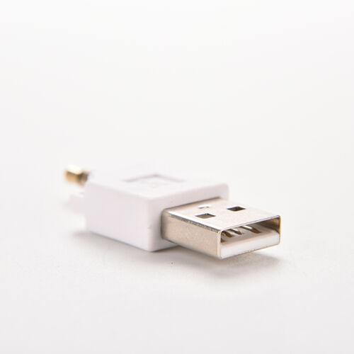 Male AUX Audio Plug Jack To USB 2.0 Female 3.5mm Converter Adapter For Mp3 MHK