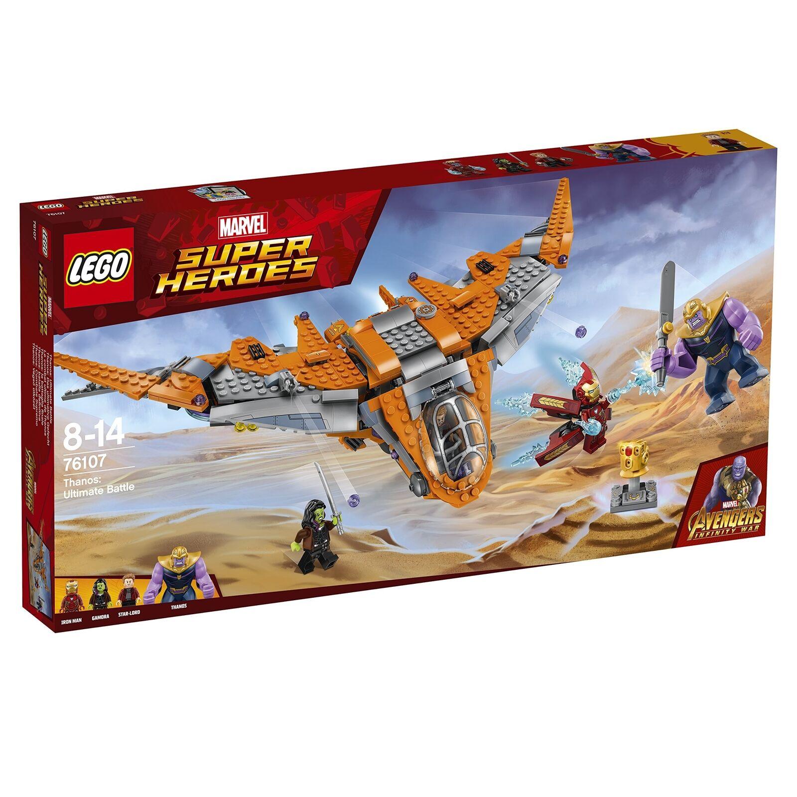 LEGO LEGO LEGO 76107 Marvel Avengers Thanos Ultimate Battle Playset The Guardian's Shi... 589ad4