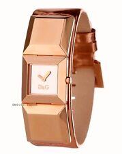 Dolce & Gabbana DW0271 Dance Damen Armbanduhr D&G Uhr Rosagold Geschenkbox Leder