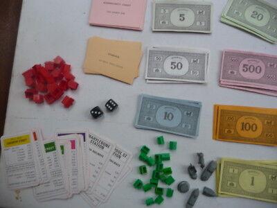 Bello Monopoly Ricambi Set Completo Di Strade-mostra Il Titolo Originale