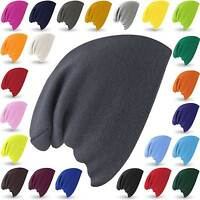 Knitted Supersoft Beanie Winter Mens Ladies Oversized Slouch Wooly Ski Hat