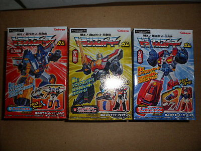 DAI ATLAS Kabaya Transformers Set #1 of 3 BIG POWERED 2012 New