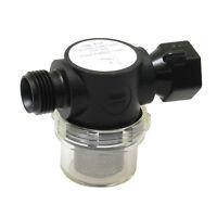"RV Motorhome Swivel Nut Water Pump Strainer Filters 1 2"" Barb x Male"