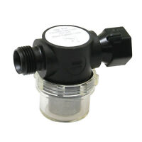 Shurflo Swivel Nut Strainer 1/2 Pipe Inlet Clear