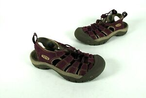 Keen-Women-039-s-Girl-039-s-Whisper-Sandals-Purple-Water-Shoes-Sandals-Size-5-5-US