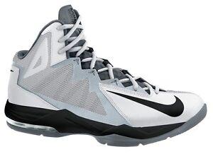 Nike Air Max Stutter Step 2 White Black Stealth Cool Grey 653455 100 sz 11.5 10