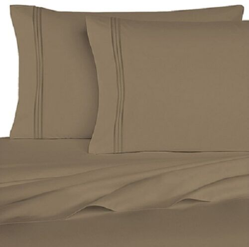Bed Sheet Set Egyptian Comfort 1800 Series 6 Pieces 12 Colors