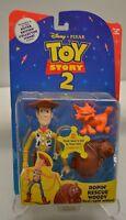 Toy Story 2 Original 1999 Disney Ropin' Rescue Woody Sealed 2