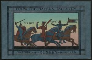 Advertising-Dux-Chemical-Solutions-Stratford-Bayeux-Tapestry-Novelty-Card