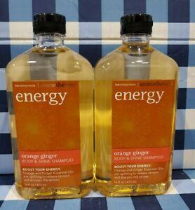 Energy Orange Ginger Aromatherapy Shampoo X2 Bath Body Works Ebay