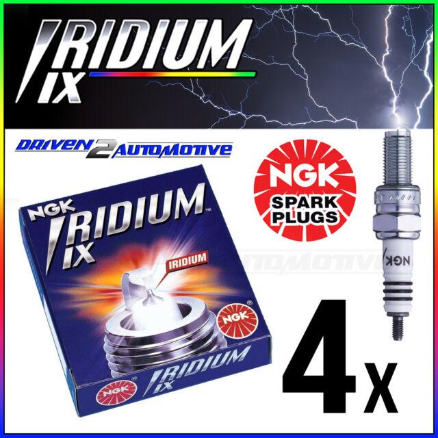 4x NGK IRIDIUM IX BPR7EIX 4055 SPARK PLUGS Norton S