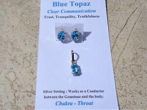 BLUE-TOPAZ-Pendant-and-Earring-Set-Gem-Quality-Sky-Blue-Tranquility-Trust