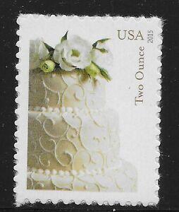 US-Scott-5000-Single-2015-Wedding-Cake-VF-MNH