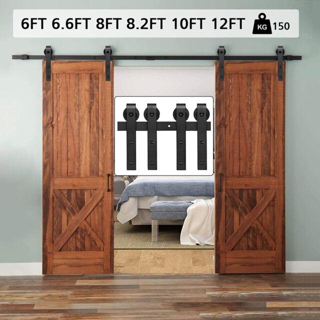 Prime Solid Wood Interior Closet Bi Fold Install Heavy Duty Track Matching Door For Sale Online   EBay