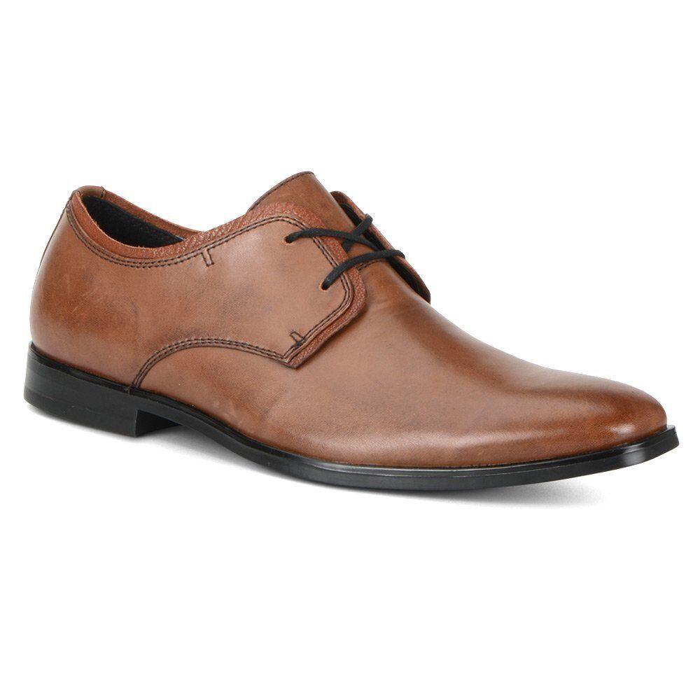 Andrew Marc Oxford Men's Clayton Plain Toe Oxford Marc Maple/Black 9 US 9 D(M) US 31ad53