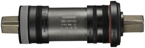 English Square Taper JIS Shimano BB-UN100 Bottom Bracket Black 68 x 122.5mm