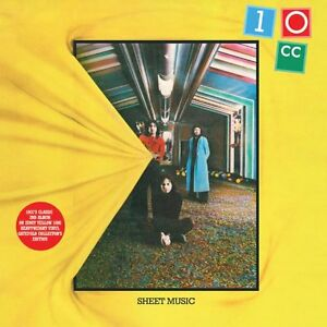 10CC-Sheet-Music-Yellow-Vinyl-Record-180g-LP-Gatefold-Classic-2nd-Album