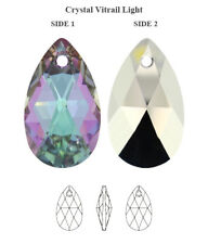 877e6c046 Genuine SWAROVSKI 6106 Pear Shape Crystal Teardrop Pendants * All Colors &  Sizes