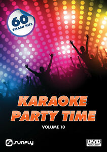 PARTY-TIME-VOL-10-SUNFLY-KARAOKE-DVD-60-HIT-SONGS