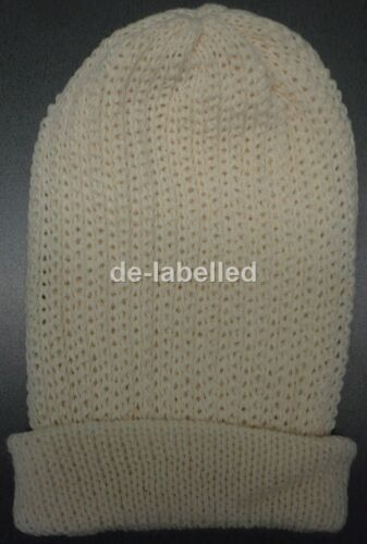 Ladies Warm Winter Beanie Knitted Hats New One Size