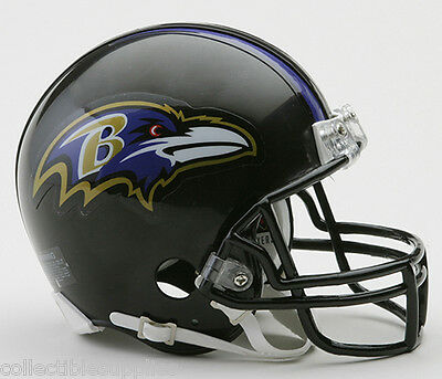 NEW BALTIMORE RAVENS REPLICA MINI NFL FOOTBALL HELMET