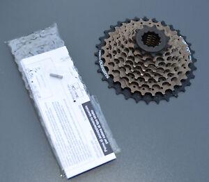 Fahrrad-Verschleissset-Shimano-Deore-Kette-HG-53-und-Kassette-HG-20-11-32-9-fach