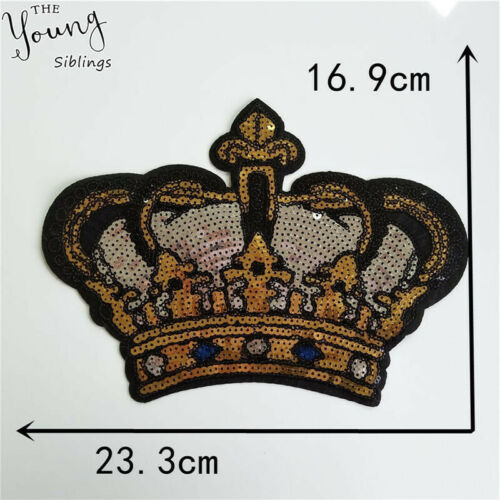 Hot melt adhesive Embroidery Fabric DIY Sequins Patches for clothing Accessories