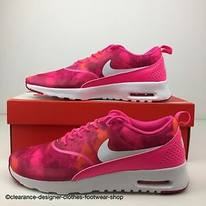 NIKE AIR MAX THEA PRINT TRAINERS WOMENS RUNNING TRAINING RUN SHOE UK ... c2e68ac50