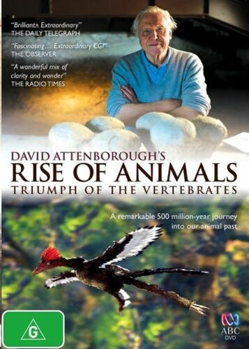 1 of 1 - The David Attenborough - Rise Of Animals (DVD, 2014), NEW SEALED REGION 4