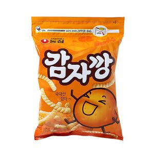 1x-250g-NONGSHIM-Pinky-Finger-Size-Potato-Stick-Big-Zipper-Bag-Korean-Snack