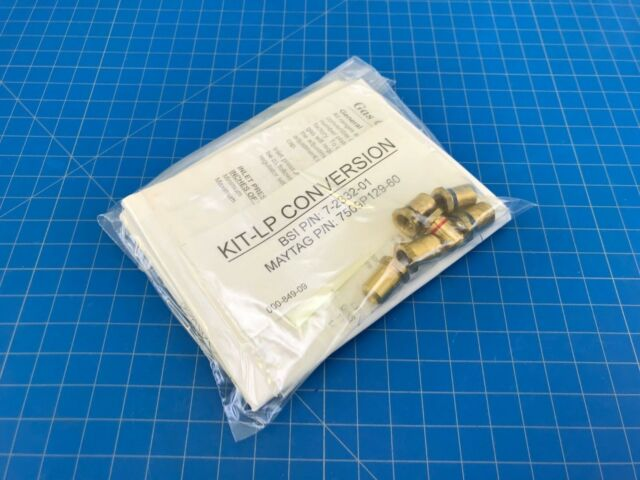 Genuine Maytag Range Oven LP Orifice Conversion Kit 7509P129-60 74009911