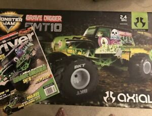 NEW Axial Grave Digger SMT10 Monster Jam - RTR - AX90055 ...