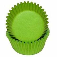 Lime Green - Baking Cups Liners - 100 Count
