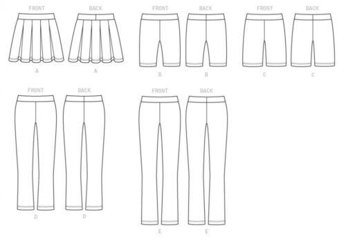 ... Butterick Ladies Easy Sewing Pattern 6460 Pleated Skort Shorts /& Pants
