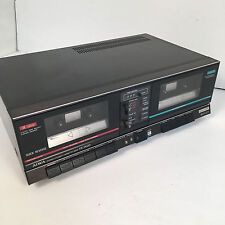 AIWA STEREO DOUBLE CASSETTE DECK FX-W20 made in JAPAN VINTAGE