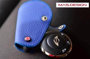 MINI Cooper S MINI Coupé and Roadster Key Fob//Case Black with white Stitching