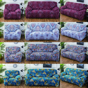 Elastic-Stretch-Fit-Couch-Sofa-Lounge-Covers-Recliner-1-2-3-4-Seater-Slipcover