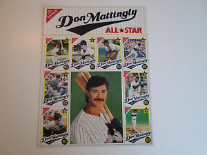 Don Mattingly Nabisco All Star Topps 1989 Uncut Sheet
