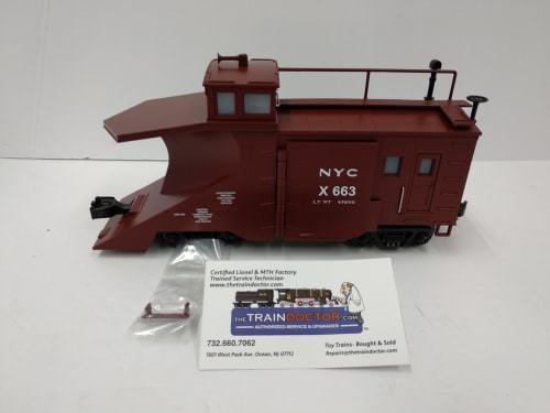 MTH o-calibre New York Central quitanieves 20-98219 -- Nuevo