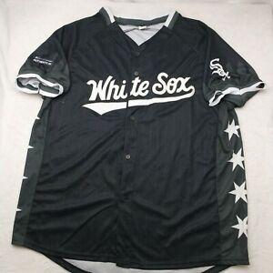 Chicago White Sox Men's XL Black Star Stadium Giveaway SGA Jersey Luis Robert