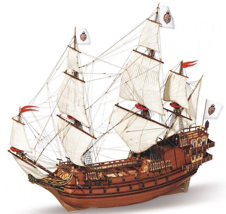 Occre Apostol San Felipe Spanish Galleon 1 60 Scale Wood Model Ship Kit