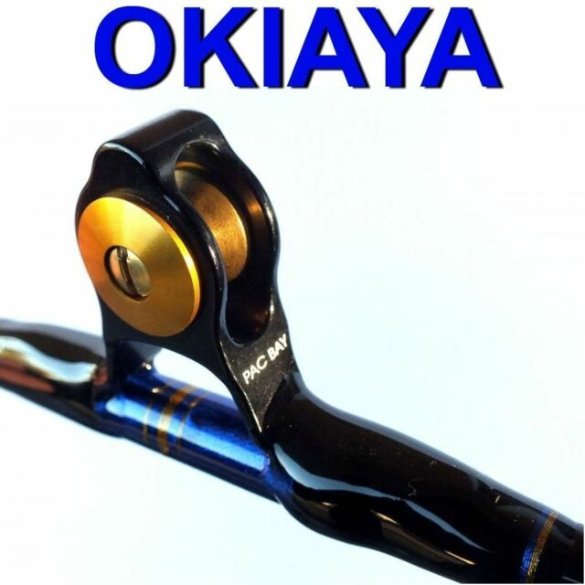 6/'; 50-80lb OKIAYA Pac-Bay Venum Pro Series RP6080R Big Game Stand-Up Rod NEW