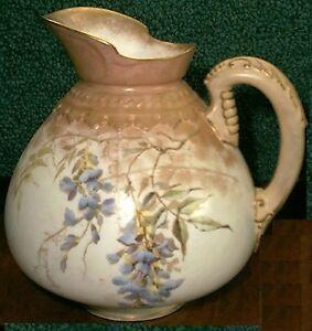Antique Doulton Burslem Pitcher rare design vers 1884-afficher le titre d`origine JgOmILdp-09160031-210485718