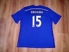 Chelsea 2014 - 2015 #15 Drogba rare home mint shirt size XXL