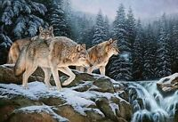 RoseMary Millette S/N Print-SPIRIT OF THE WILD WOLF