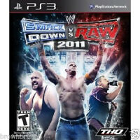 Wwe Smackdown Vs Raw 2011 Wwf Wrestling Ps3 Sealed